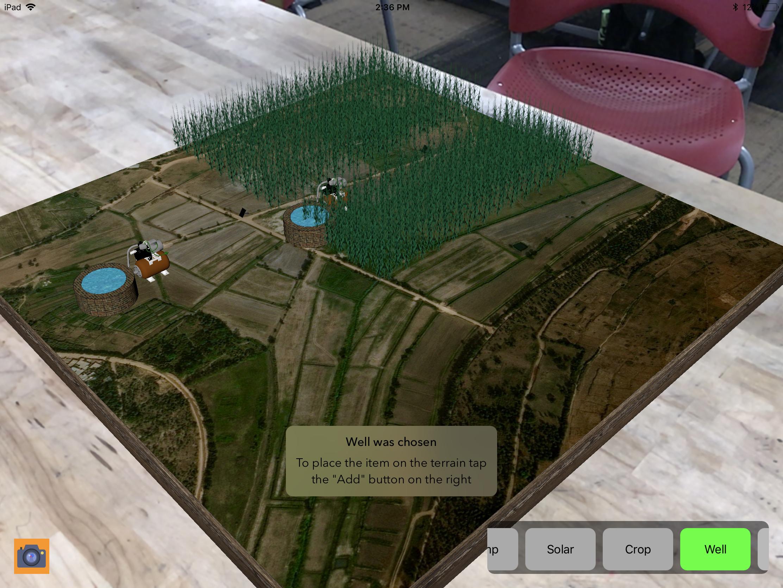 AR for Irrigation