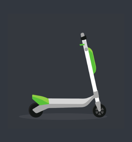 Lime has scooters of 3 different generations that has 3 different lookings. The scooter should look generic and recognizable.